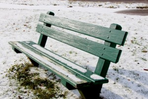 winter-bench
