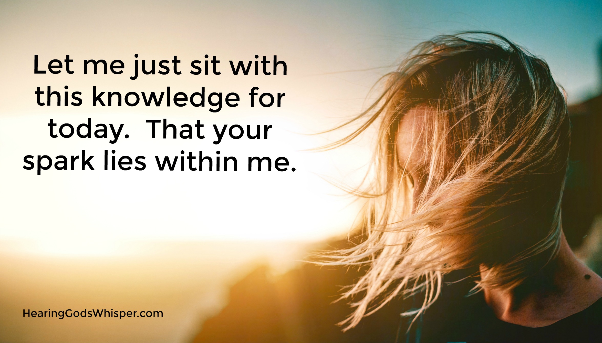 Sit With Me Prayer