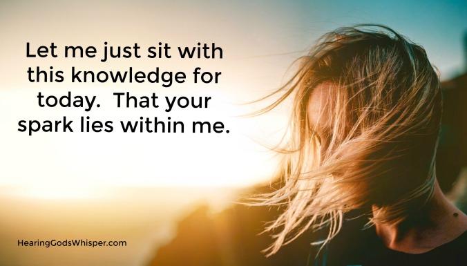 Sit With Me Prayer